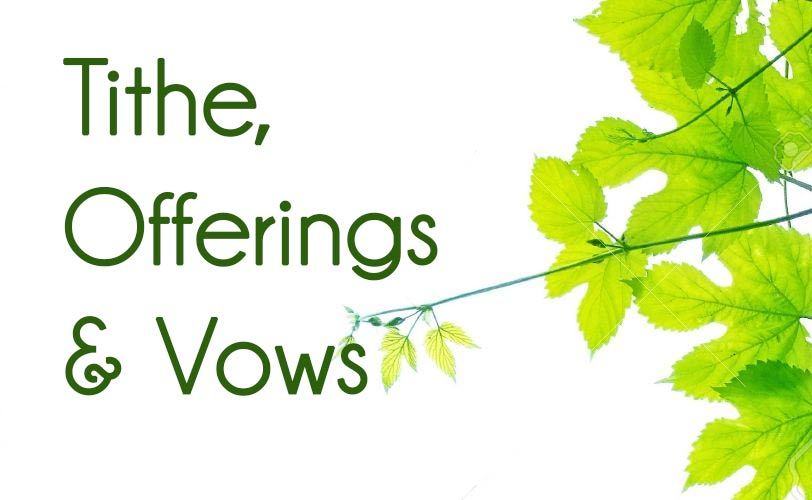 the truth about tithes offerings and vows